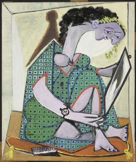 Pablo Picasso, Femme à la montre, 30 avril 1936, Juan-les-Pins, Huile sur toile, 65x54,2 cm, Musée national Picasso - Paris,© Succession Picasso by SIAE 2016