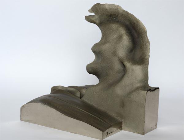 Francesco Somaini, Acroterio della metropolitana I, 1974