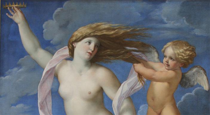 Guido Reni, La Fortuna con una corona, 1637 circa. Roma, Accademia Nazionale di San Luca. Courtesy Accademia Nazionale di San Luca - Mostra alle Scuderie del Quirinale