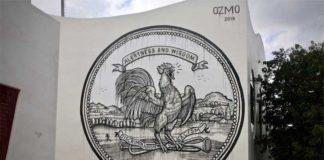 Ozmo, Grab this cock - The Raw Project, Wynwood, Miami. Foto: Arnold R. Melgar Foundation