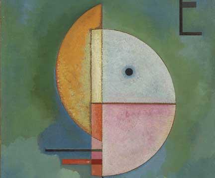 Vasily Kandinsky Verso l'alto (Emperor), Collezione Peggy Guggenheim-Doppio Senso. Percorsi Tattili