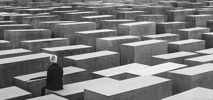 Gerri Gambino: Holocaust-mahnmal, berlin 2010 - La memoria della Shoah