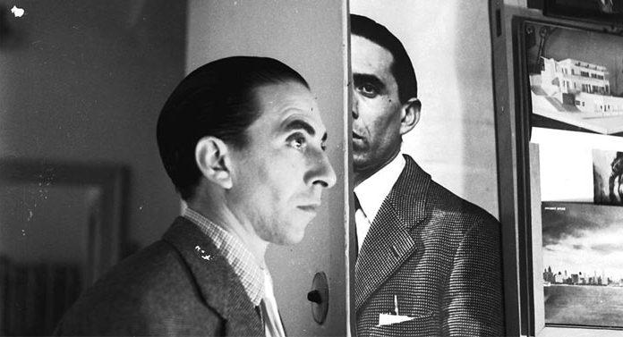 Duplice ritratto di Ico Parisi, Cernobbio, 1953