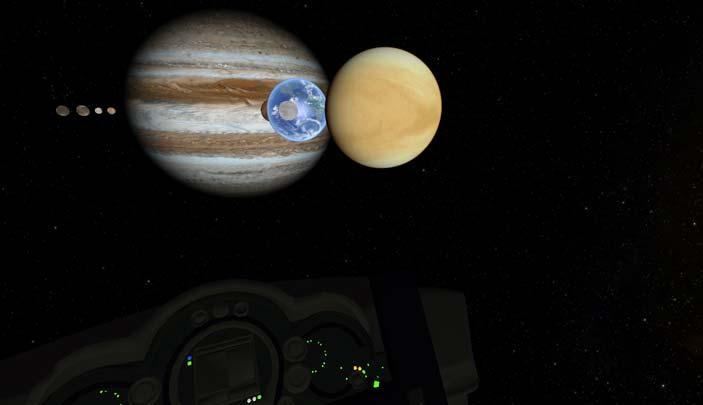 In viaggio tra i pianeti - Marte e marziani
