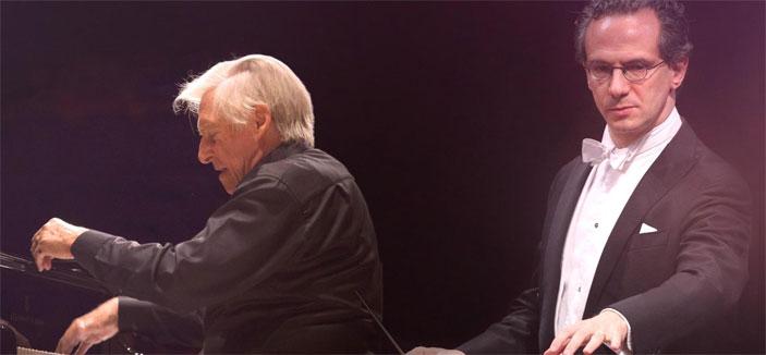 Joaquín Achúcarro e Fabio Luisi