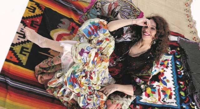 Teresa De Sio, foto di Luciano Viti