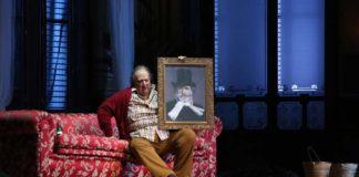 Ambrogio Maestri durante le prove di Falstaff al Teatro alla Scala di Milano