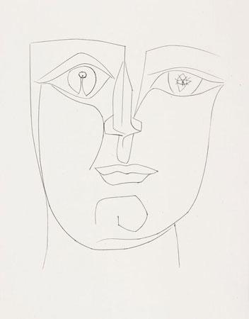 Pablo Picasso, Carmen, 1949, 40 incisioni, bulino, 26,2x33,1 cm - 320 esemplari pubblicati dalla Bibliothèque Française a Parigi e stampati dall'Atelier Roger Lacourière Collezione Nicola Pontalti © Succession Picasso by SIAE 2016