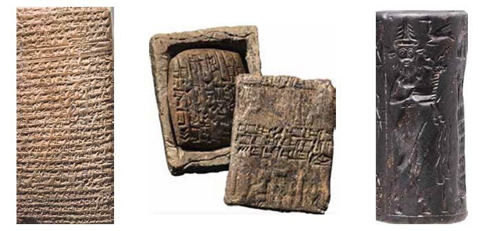 """Mostra """"Prima dell'alfabeto. Viaggio in Mesopotamia all'origine della scrittura"""""""