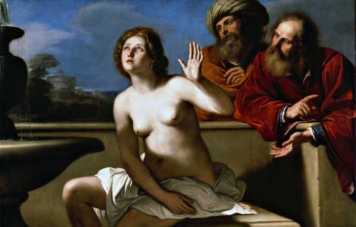 Guercino, Susanna e i vecchioni, Parma, Galleria Nazionale