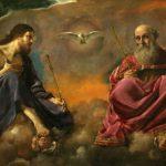 Giovanni Francesco Barbieri detto il Guercino, La Trinità, 1616-1617 circa, olio su tela, 154×262 cm Giovanni Francesco Barbieri detto il Guercino, La Trinità, 1616-1617 circa, olio su tela, 154×262 cm
