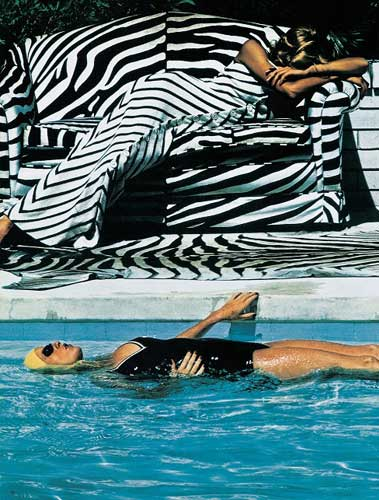 French Vogue, from the series White Women, Melbourne 1973 © Helmut Newton Estate