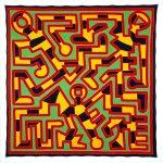 Keith Haring, Untitled, May 22 1988, acrilico su tela, 305,82 x 305,82 cm, New York, Tony Shafrazi Gallery © Keith Haring Foundation
