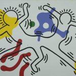 Keith Haring, Untitled, 1986, acrilico e olio su tela, 245 x 369 cm, Hong Kong, collezione privata © Keith Haring Foundation