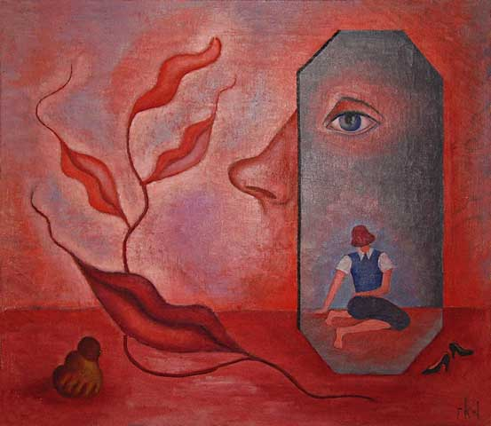 Rita Kernn-Larsen, Self-Portrait (know Thyself), 1937, Fondazione Solomon R. Guggenheim, Venezia