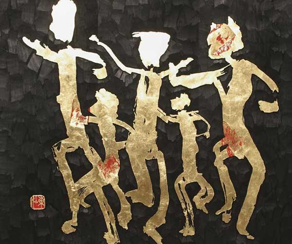 """Usuda Tosen - """"Mostra Shodo. L'incanto del segno. Maestri contemporanei di calligrafia giapponese"""""""