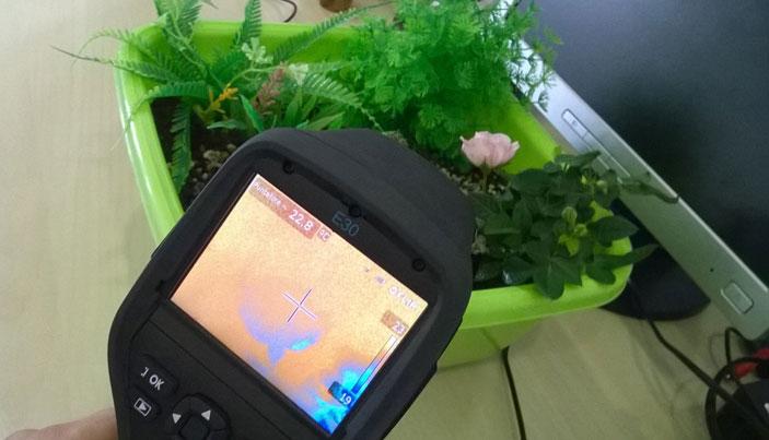 Cyberplant termocamera giardino vero finto - Offerta educativa 2017 di Technotown