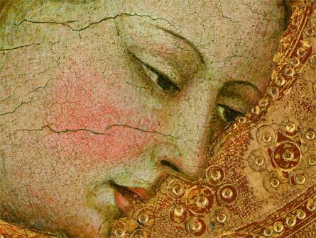 Alvaro Pires da Evora, Annunciazione (Particolare)
