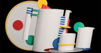 Marcello Morandini, Servizio da caffè, Circolo Color,, Rosenthal, Selb, 1985
