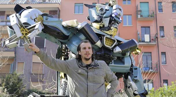 Transformers Art, Danilo Baletic © Paolo Soave, Museo Nazionale Scienza Tecnologia