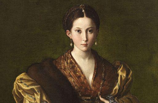 Parmigianino, ANTEA (OTTAVIA CAMILLA BAIARDI), 1536, NAPOLI. MUSEO DI CAPODIMONTE