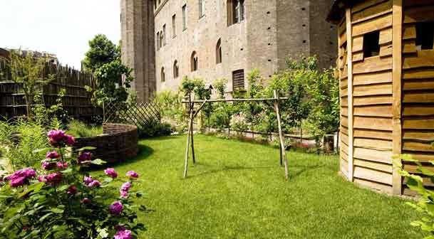 Giardino della Principessa - Palazzo Madama - Torino