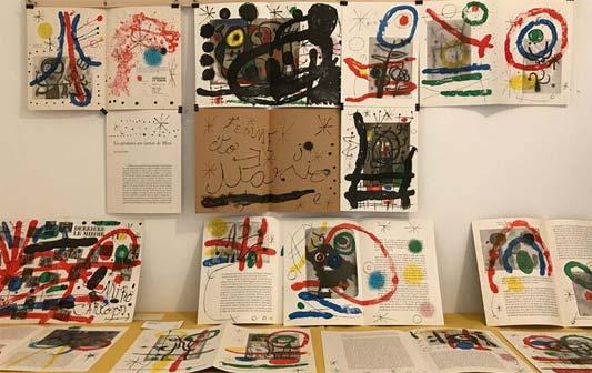 Miró. Le parole multicolori - Allestimento della mostra alla Kasa dei libri, Milano
