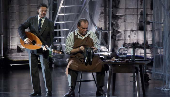 Prove de I maestri cantori di Norimberga di Richard Wagner - Teatro alla Scala di Milano - Foto Brescia/Amisano