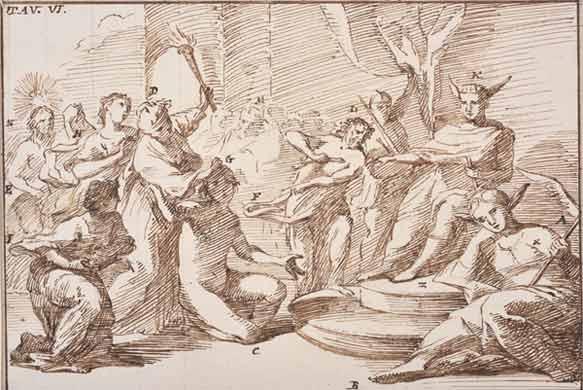 Baldassarre Orsini, Antologia dell'Arte Pittorica