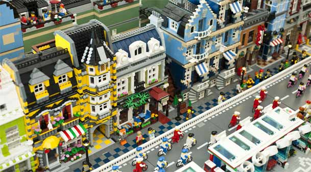 City Lego © Giulia Fedel Residenze