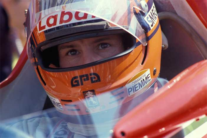 Gilles Villeneuve, GP di San Marino, 1980 - Foto di Ercole Colombo
