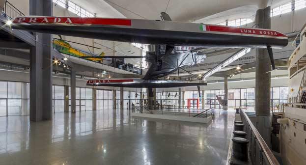 Luna Rossa al Museo Nazionale della Scienza e Tecnologia di Milano