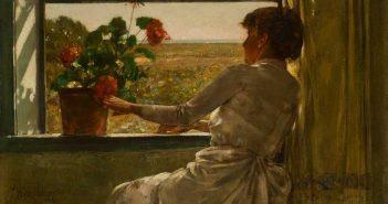 """Summer Evening, 1886, Childe Hassam - Florence Griswold Museum - Nel film """" Il giardino degli artisti. L' Impressionismo americano """""""