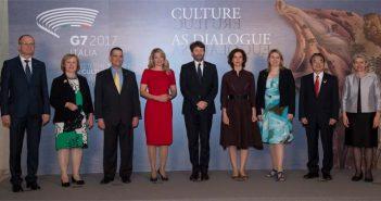G7 Cultura - Foto di gruppo