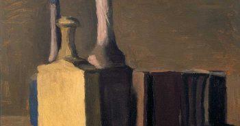 Giorgio Morandi, Natura morta, particolare, olio su tela, cm 44,50 x 46,50, 1941. Fondazione Cassa di Risparmio di Verona Vicenza Belluno e Ancona