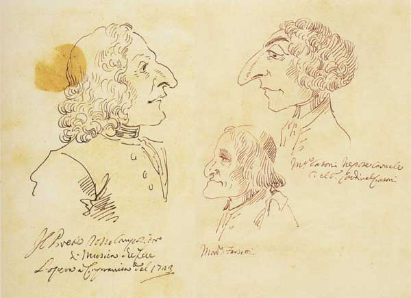 P L GHEZZI, VIVALDI, FARSETTI, CASONI - Bando per 5 borse di alti studi sul tema del ritratto in epoca barocca