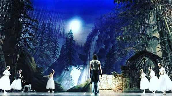 Corpo di Ballo del San Carlo a Singapore - Balletto Giselle