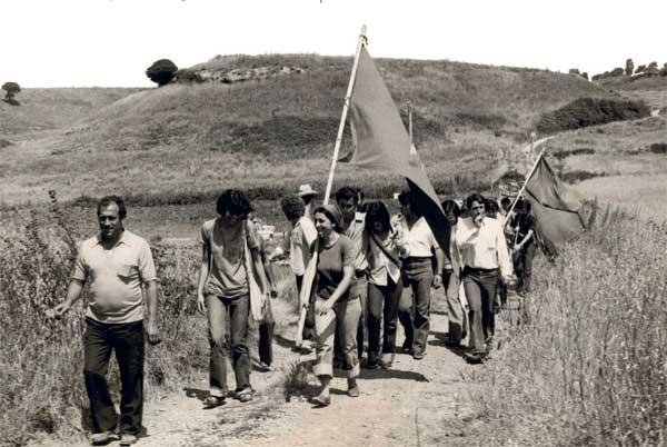 L'occupazione delle terre tra il 1977 e il 1981 - Mostra La terra come patrimonio comune