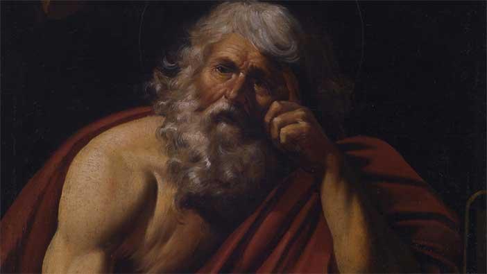 Leonello Spada, San Gerolamo (particolare)
