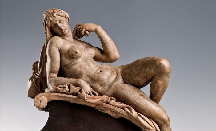 Niccolo Tribolo (1497-1558), Aurora, 1534-1537 circa, terracotta; h. cm 55, Firenze, Museo Nazionale del Bargello