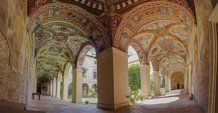 Open House Roma 2017 - Chiostro del convento di S. Maria sopra Minerva