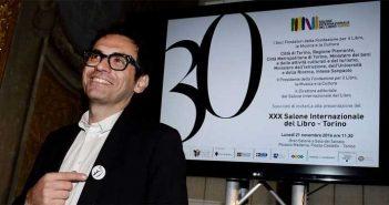 Nicola Lagioia, direttore editoriale della XXX edizione del Salone del Libro di Torino
