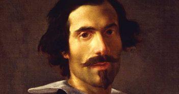 Gian Lorenzo Bernini, Autoritratto (particolare), Firenze, Galleria degli Uffizi, Corridoio Vasariano