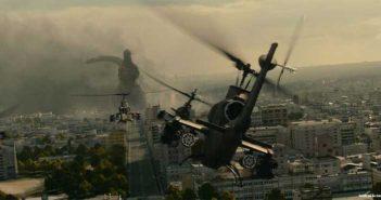 Una scena del film Shin Godzilla