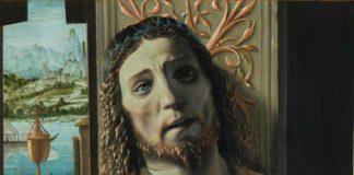 Donato Bramante, Cristo alla colonna, particolare