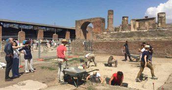 Pompei, nuovi scavi