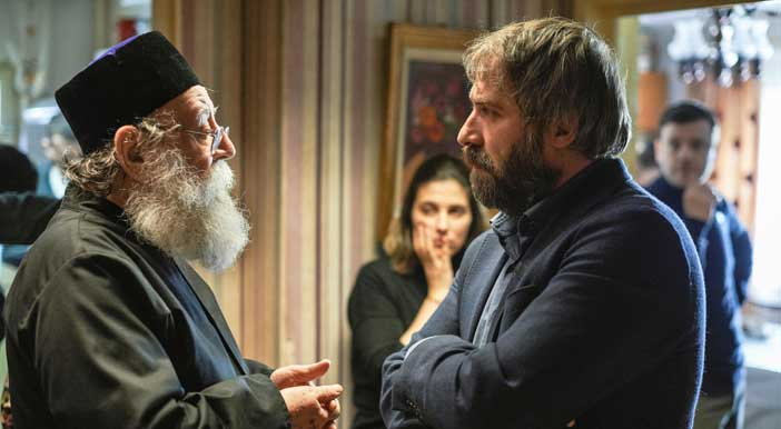 Valer Dellakeza e Mimi Brănescu nel film Sieranevada