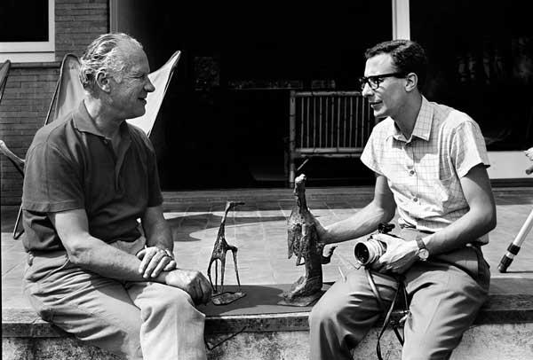 Marini e Aurelio Amendola, Forte dei Marmi, 1968