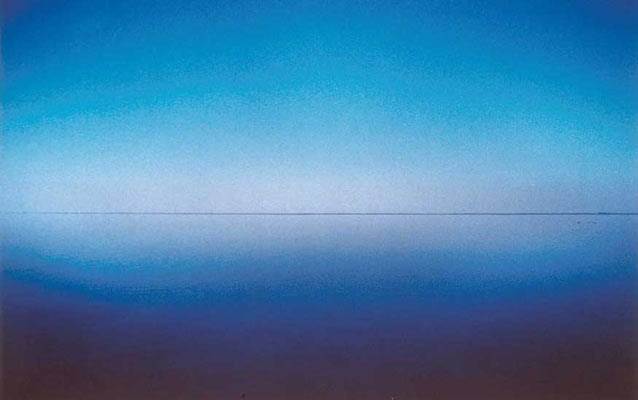 Franco Fontana (Modena, 1933), Orizzonte, Comacchio, 1976, Stampa fotografica Cibachrome, cm 57.5 x 87.5, UniCredit Art Collection