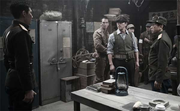Una scena del film Operation Chromite